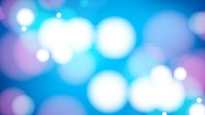 Blue Purple and White Bokeh Defocused Lights Background Vector Image