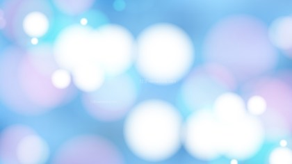 Blue Purple and White Blur Lights Background Design