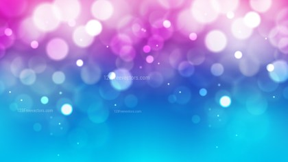 Blue Purple and White Defocused Lights Background