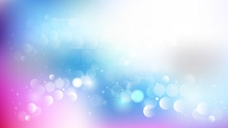 Blue Purple and White Blur Lights Background Graphic