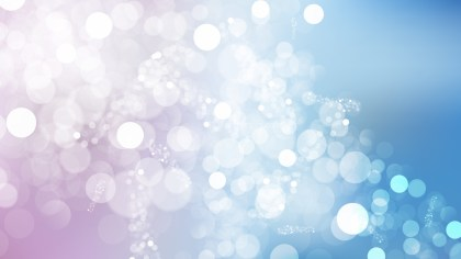 Blue Purple and White Blurred Bokeh Background Illustration