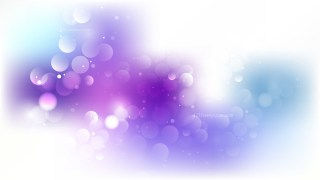 Blue Purple and White Blurry Lights Background Image