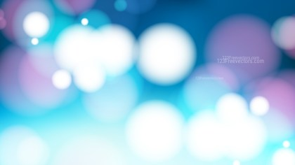Blue Purple and White Blurred Lights Background Vector Graphic