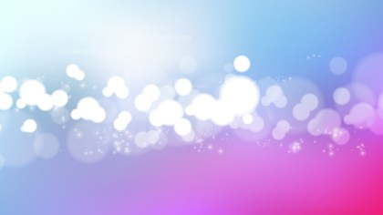 Abstract Blue Purple and White Blurred Bokeh Background Illustration