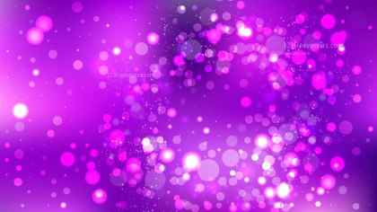 Abstract Bright Purple Lights Background