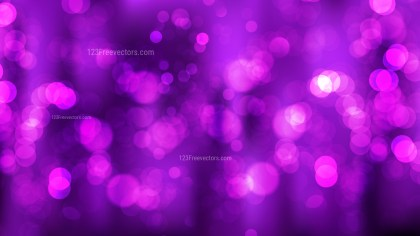 Bright Purple Lights Background