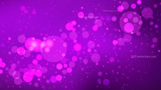 Abstract Bright Purple Bokeh Background Design