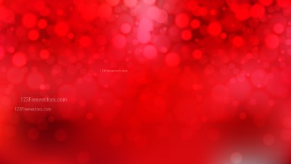 Bright Red Defocused Background Vector Illustration