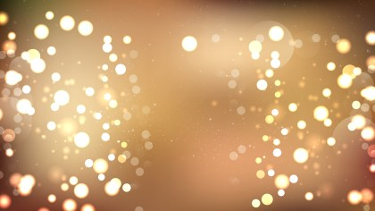Brown Blurred Lights Background Illustrator