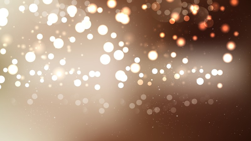 Abstract Brown Defocused Lights Background Design