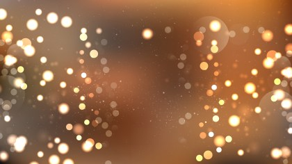 Abstract Brown Blurred Bokeh Background