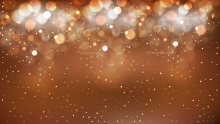 Abstract Brown Bokeh Background