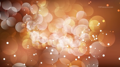 Abstract Brown Blur Lights Background Vector Graphic