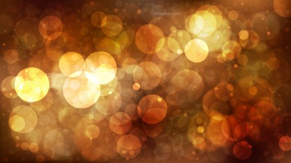 Brown Bokeh Lights Background
