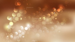 Abstract Brown Blurry Lights Background Vector Image