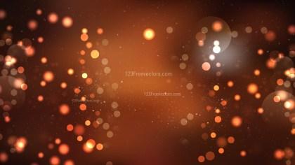 Brown Bokeh Defocused Lights Background Vector Art