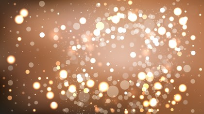 Abstract Brown Blur Lights Background Design