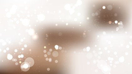 Brown and White Blur Lights Background Vector Graphic