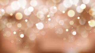 Brown and White Bokeh Lights Background Graphic