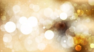 Abstract Brown and White Blur Lights Background Vector