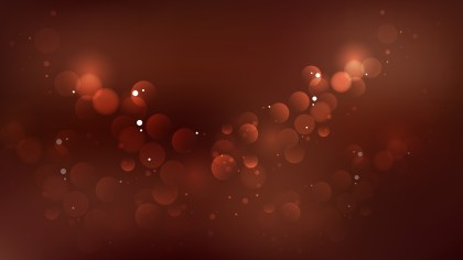 Coffee Brown Bokeh Background Vector
