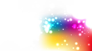 Colorful Bokeh Lights Background Vector Graphic