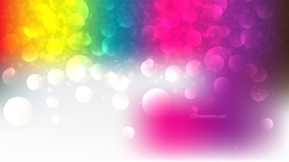 Colorful Defocused Lights Background Illustrator