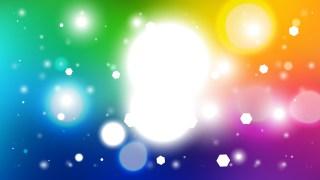 Colorful Lights Background Vector Illustration