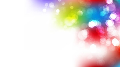 Abstract Colorful Blur Lights Background