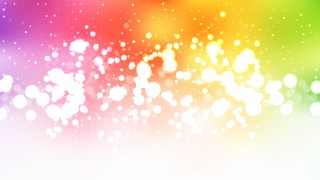 Abstract Colorful Bokeh Defocused Lights Background