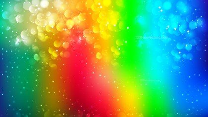 Abstract Colorful Bokeh Lights Background