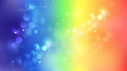 Abstract Colorful Defocused Background