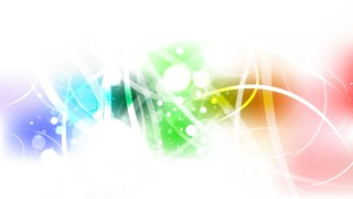 Abstract Colorful Bokeh Defocused Lights Background Image