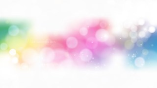 Abstract Colorful Defocused Background Vector Image