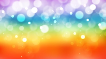 Abstract Colorful Defocused Lights Background Illustrator