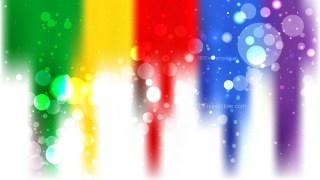 Abstract Colorful Lights Background Vector Illustration