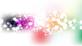 Abstract Colorful Illuminated Background