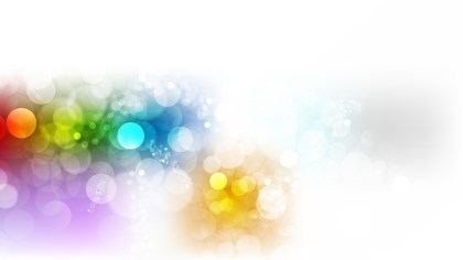 Abstract Colorful Illuminated Background Illustration