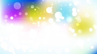 Colorful Blurry Lights Background