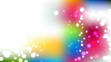 Colorful Defocused Lights Background