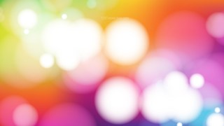 Colorful Blurry Lights Background Vector Image
