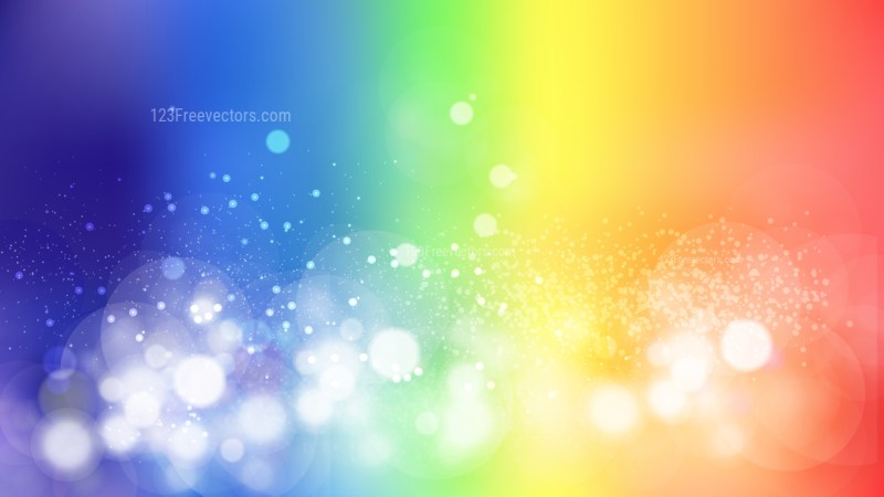 Colorful Defocused Background Vector Art