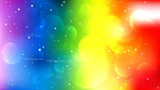 Colorful Defocused Lights Background Graphic