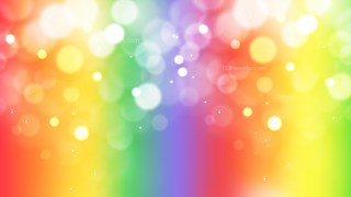 Abstract Colorful Bokeh Background Illustrator