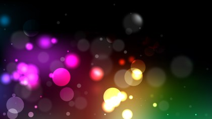 Abstract Cool Bokeh Lights Background Illustrator