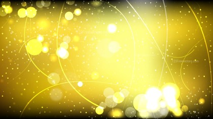 Abstract Cool Gold Defocused Lights Background Vector Graphic