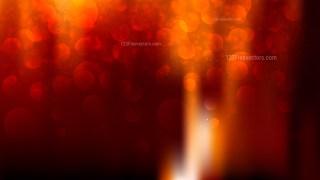 Abstract Cool Orange Defocused Lights Background