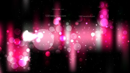 Cool Pink Blurred Bokeh Background