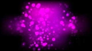 Abstract Cool Purple Bokeh Defocused Lights Background