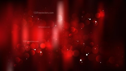 Abstract Cool Red Bokeh Background